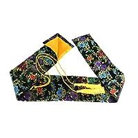 Makoto 丝绸剑袋适用于日本武士、瓦奇齐和中国台切剑