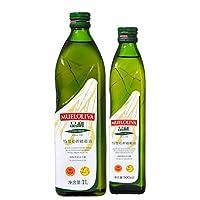 MUELOLIVA品利特级初榨橄榄油家庭特惠装1L+500ml(西班牙进口)