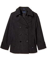[橄榄橄榄学校 ] 橄榄橄榄橄榄学校 带立领P大衣[浅灰色] 女孩 JC739-06