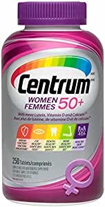 加拿大 Centrum Complete Multivitamin and Mineral Supplement 善存 复合维生素矿物质 250粒 (50岁以上女性专用(For Women 50+))