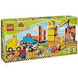 LEGO 乐高 DUPLO系列 大型建筑工地 10813 2-5岁 积木玩具 婴幼