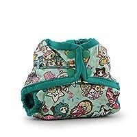 Rumparooz One Size Cloth Diaper Cover Snap tokiTreats - Peacock 新生儿