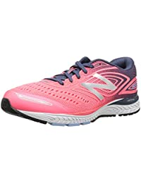 New Balance Girls' 880v7 Running Shoe Guava/Vintage Indigo 7 M US Big Kid
