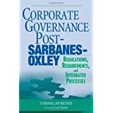 Corporate Governance Post-Sarbanes-Oxley: Regulations, Requirements, and Integrated Processes(封面随机)