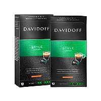 DAVIDOFF 大卫杜夫 浓缩咖啡胶囊(伦戈意式)55g *2(德国进口) (跨境自营,包邮包税)