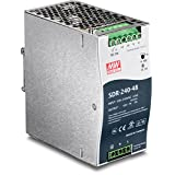 TRENDnet 240 W Single Output Industrial DIN-Rail Power Supply, Extreme -20 to 70 °C (-4 to 158 °F) Operating Temp, TI-S24048