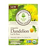 蒲公英树叶和根茶,16 袋,来自 Traditional Medicinals Teas 16 Servings 0.99