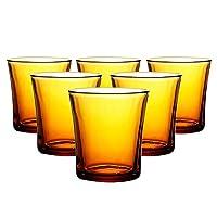 DURALEX 多莱斯 水杯210ml6只装琥珀色法国进口