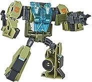 Transformers Toys Cyberverse 变形金刚玩具 Ultra Class RACK'N'Ruin 可动公仔 - 与能量盔甲组合 - 适合 6 岁及以上儿童