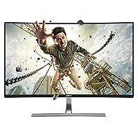 Anmite 安美特 AN-320W02D 32英寸窄边框高清2K曲面电脑显示器1800R曲率电竞屏幕