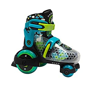 KRF The New Urban Concept des Park City Baby Quad 可调 M 滑冰鞋 2-4 岁,贝贝尼诺斯,蓝色,30-33