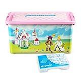PLAYMOBIL 064662furniture 和装饰–收纳盒 + 隔层 BOX–princesses