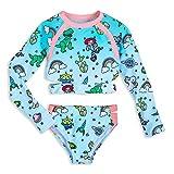 Disney Toy Story 女童两件套泳衣 蓝色