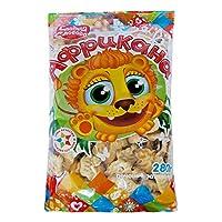 3袋 甜蜜农庄 俄罗斯进口 饼干 早餐饼干 休闲零食 (动物饼干 280g/袋)