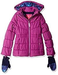 London Fog 女童大保暖冬季夹克外套配饰
