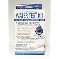 SeaVisions 2 个样品综合水测试套件,适用于饮水、海水或淡水水族箱的测试套件