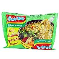 Indomie Vegetable Instant Noodles, 70 g, Pack of 40