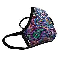 Vogmask时尚口罩N99儿童防雾霾口罩成年人口罩pm2.5防雾霾口罩 梦幻色彩 (S号(20-50磅/11-22公斤))