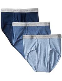 Hanes 男式 3 条装中腰外露腰三角裤