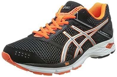 ASICS 亚瑟士 路跑鞋 男 跑步鞋GEL-PHOENIX 7 T5M0N-9093 黑色/橘色 40.5