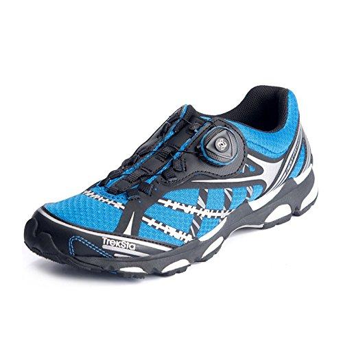 Treksta特瑞达徒步鞋 BOA系统 透气多功能低帮舒适城市跑鞋 SYNC BOA 黑/蓝色