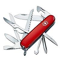 Victorinox 维氏军刀 瑞士多功能军刀 农场主 1.4713 红色(91毫米 15种功能)