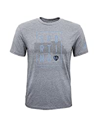 MLS 儿童和青少年带框短袖三合一混纺 T 恤