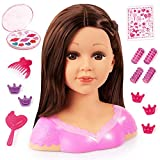 Bayer Design 90088AK Charlene *模型造型头带发饰和化妆,棕色,亮色