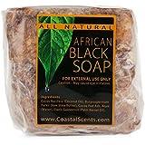 Coastal Scents非洲黑香皂 16盎司