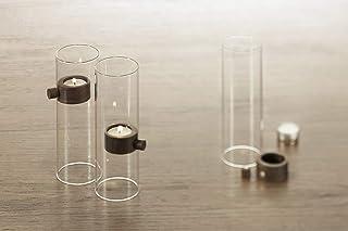 Philippi Lift 蠟燭架,玻璃,棕色,20厘米