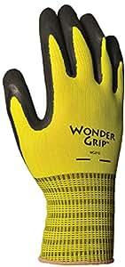 LFS Inc Wonder Grip WG310L 额外抓握无缝针织工作手套 large 大