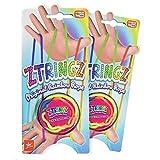 Nowstalgic Toys Ztringz Original Rainbow 玩具绳(2 件装)