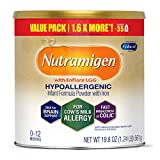 nutramigen with enflora lgg for cows milk allergy powder can, for babies 0-12 months, 19.8 ounce by bobfriend