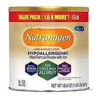 Enfamil 美赞臣铂睿 Nutramigen Colic 低敏无乳糖婴儿配方奶粉,19.8 盎司(561g)-含Omega 3 DHA,LGG,铁