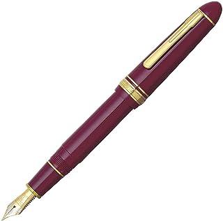 PLATINUM 日本白金 總統18K金鋼筆 紅色細字 F尖 PTB-20000P-WN-F