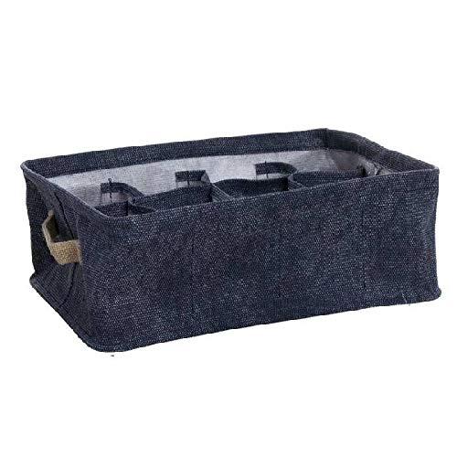 Dcasa 12 个隔层收纳盒,适用于衣橱收纳 家庭用品 中性成人 颜色 单人