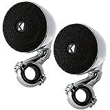 "Kicker 40PSM34 100"" 3"" Weather-Proof Enclosed Mini 4 ohm Speaker System"