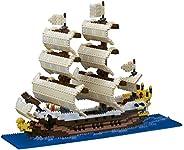 Nanoblock 帆船 积木玩具 NB-030 单品