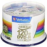 三菱化学媒体 Verbatim DVD-R(CPRM) 白 50枚