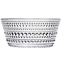 Iittala Kastehelmi Bowl, Dish, Small Bowl, Salad Bowl, Snack Bowl, Glass, Transparent, 230 ml, 1007053