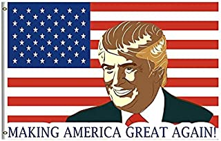 Omega X Inc. Making America Great Again 2020 Trump Flag 覆盖 多种颜色