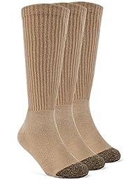 YolBer 男孩用超软在小牛垫袜子 - 3对