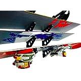 StoreYourBoard 滑雪板多壁架 家庭存储和组织水平安装