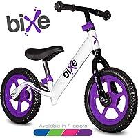 Bixe 极轻(4 磅)平衡自行车,适合 18 个月至 5 岁儿童 紫色 12EX