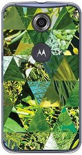 Coverfull 绿色质地 三角形 (透明) / for Nexus 6/Y! mobile YMRNX6-PCNT-212-M724 YMRNX6-PCNT-212-M724
