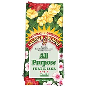 Kellogg Supply 8640 4LB All Purpose or Antique Pewter Fertilizer 4 lb