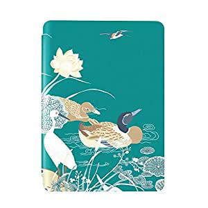 Kindle X 国家宝藏联名保护套,适用于Kindle青春版,荷塘乳鸭