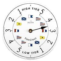 Acctim 24682 Ryde Tide 时钟,白色
