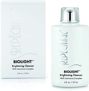 Repechage Biolight 亮肤洁面乳,含氨基酸,复合*和皮肤修正面部,含维生素 E,水杨酸,AHA 6 液体盎司