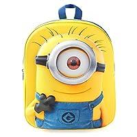 Minions Carl School 背包,28厘米,黄色
